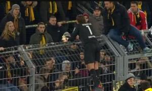 Augsburgu turpëron Dortmundin