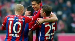 Bayern Munich fiton me dy super gola