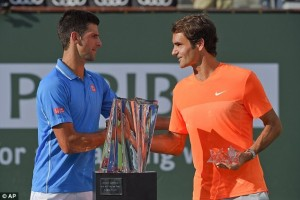 Novak Djokovic triumfon në Indian Wells