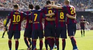 Barcelona në vend të parë në tabelën e La Liges